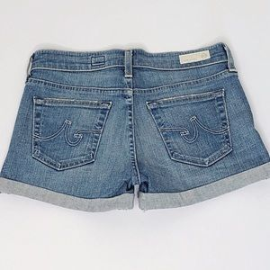 Adriano Goldschmied Pixie Blue Denim Shorts Sz. 26